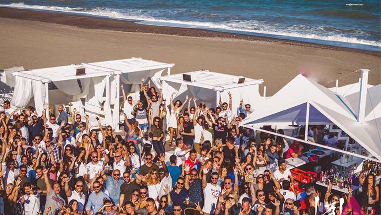 beach club málaga